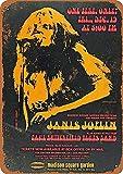 WallAdorn Janis Joplin im Madison Square Garden Eisen