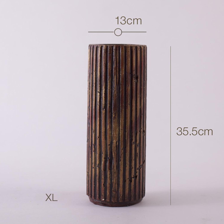 SE7VEN Vase en céramique de country américain bcourir OrneHommests de dispositif salon xuan guan table fleur fleur-D