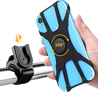 Mobile Phone Holder, Bingcute Rotated 360° Mobile Phone Holder Is Installed On Bicycles and Motorcycles. for IPhone X/6/7/...