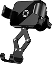 Zoxkoy Car Phone Mount Holder: Universal Vehicle Cell Phone Holder for Car Air Vent, Gravity Car Phone Holder Cradle, Car Mount Compatible iPhone XS/Max/XR/X/8/7 Plus Galaxy S10/S9 Plus/Note 9 LG etc