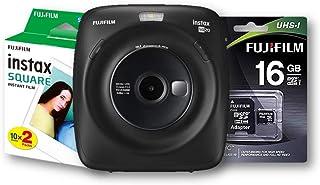 Fujifilm Instax SQ20 Negra + Memoria + 20 Fotos