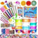 スライム slime kit フリースライム おもちゃ 手作りツール ストレス解消 ふわふわクリスタル粘土 一緒に遊ぼう