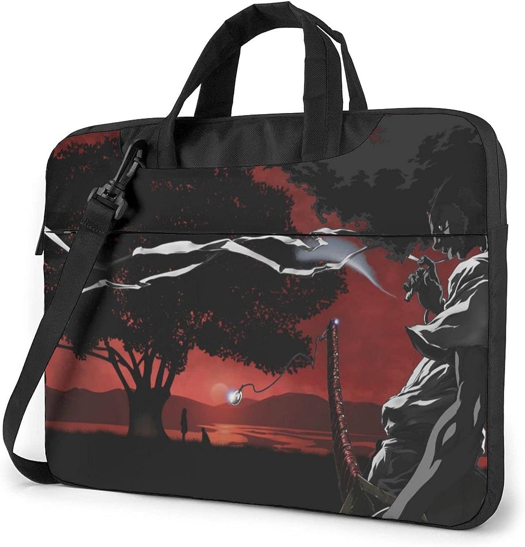 Afro Samurai Laptop Carrying Case half Briefcase Shoulder Max 54% OFF Handbag Bag