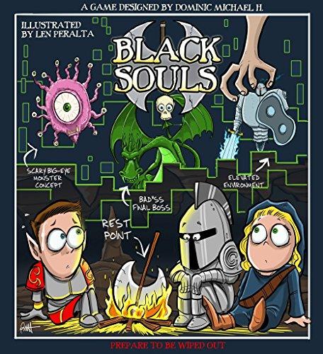 Medieval Lords MVL007 Black Souls (Box-Spel), meerkleurig