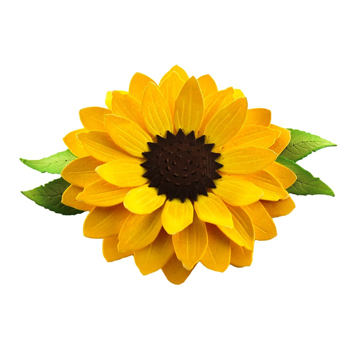 Spellbinders S2-061 Shapeabilities 'Create a Sunflower' Scrapbooking Template