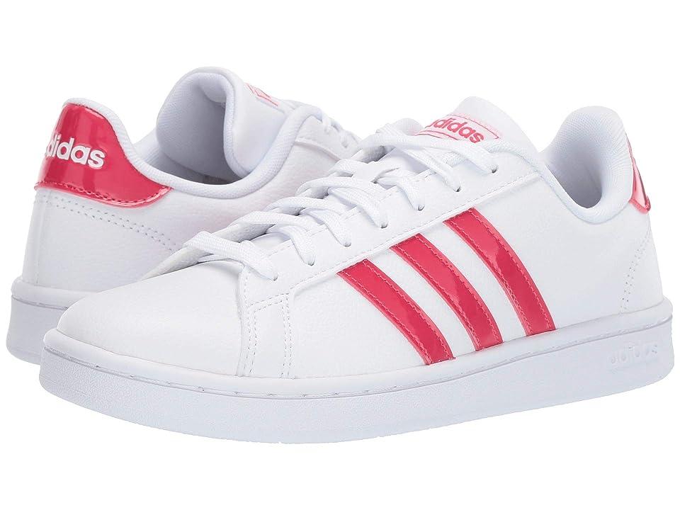 adidas Grand Court (White/Active Pink/White) Women