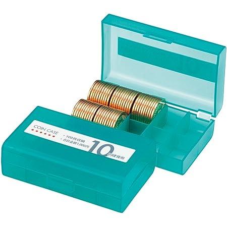 オープン工業 コインケース 10円硬貨(100枚収納) M-10W 緑