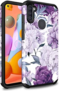 Ryphez for Samsung Galaxy A11 Case,Samsung Galaxy A11 case,[Dual Layer] Hybrid Shock Proof Protective Rugged Bumper Cover...