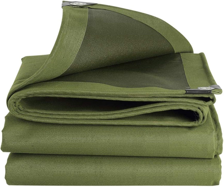 GY Schwere Segeltuchplane Armeegrün Wasserdicht, Mehrzweck LKW Fhre Auftragnehmer Indoor-Outdoor-Zelt Dicke Abnutzung Anti-UV 5 Gren (Farbe   Tarpaulin, gre   2  2m)