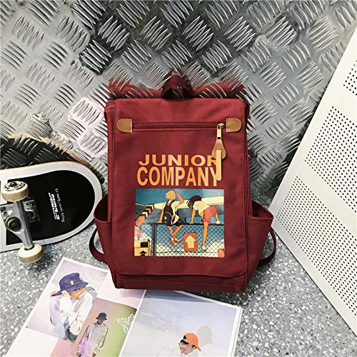 Backpack Female New Wave Korean Version Of The College Wind Large Capacity Backpack Junior High School Students Oxford Cloth Bag 4 26 * 16 * 38Cm