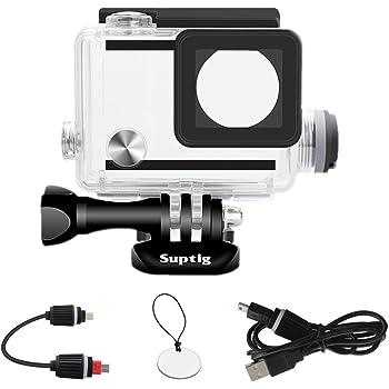32cm x 22cm x 7cm VKeyueDa VKeyueDa Shockproof Waterproof Portable Travel Case for GoPro New Hero //HERO6 //5//4 Session //4//3 //3//2 //1 Size Puluz U6000 and Other Sport Cameras Accessories