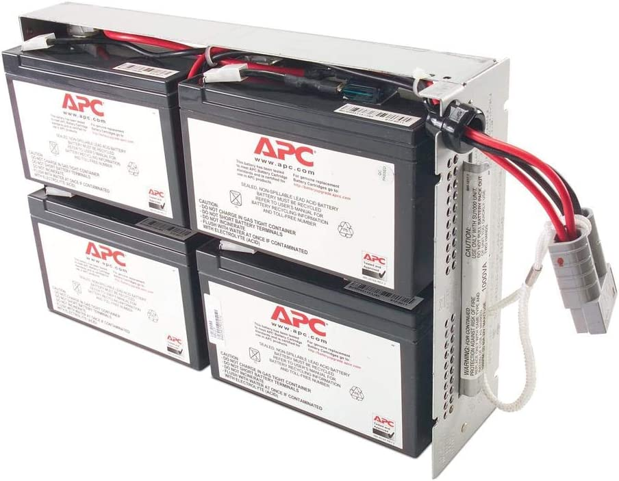 APC UPS Battery Replacement, RBC23 for Smart-UPS model SUA1000RM2U and select others