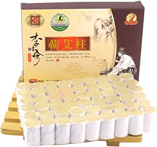 Erencook 54 Pcs Original Pure Moxibustion Column Sticks Moxa Stick Five Chen Purity 35:1 Ratio