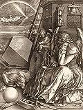 1art1 Albrecht Dürer - Melencolia I, Die Melancholie,