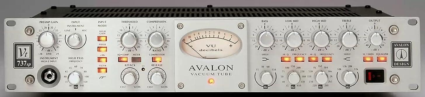 Avalon VT-737sp Class A Mono Tube Channel Strip Limited Edition