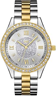 JBW Mondrian 16 Diamonds & Swarovski Crystal Encrusted, Bezel Watch For Women