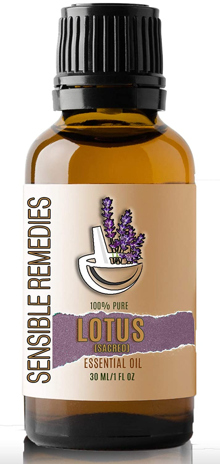 Sensible Remedies Lotus Sacred 100% Grade Ess Max 58% OFF Pure Therapeutic Directly managed store