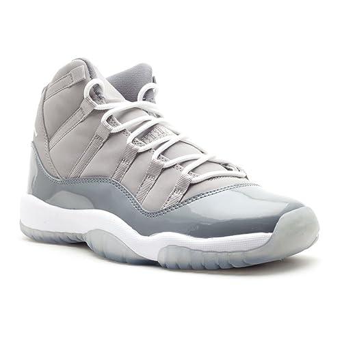 0809479d139 Nike AIR Jordan 11 Retro (GS) Big Kids Cool Grey 2010 378038-107