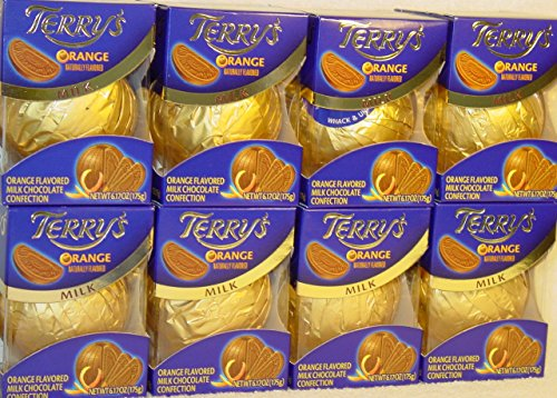 Terrys Milk Chocolate Orange Ball  6.17 Ounce Box Packaging May Vary