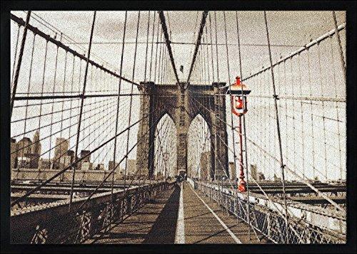 Pro-Art-Bilderpalette, Zerbino Mat-Line, 70 x 50 cm, Motivo: Welcome to N.Y (Bunt)