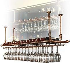 Teapots Organiseer keuken Vintage wijnglazen houder, thuis opknoping beker houder huishoudelijke wijn opbergkast ijzeren r...