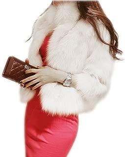 Best short white faux fur coat Reviews