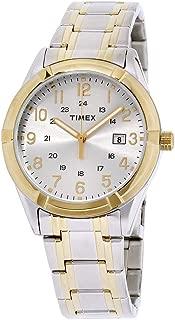 Men's Easton Avenue | Two-Tone w White Dial 24-Hr Time | Dress TW2P76500