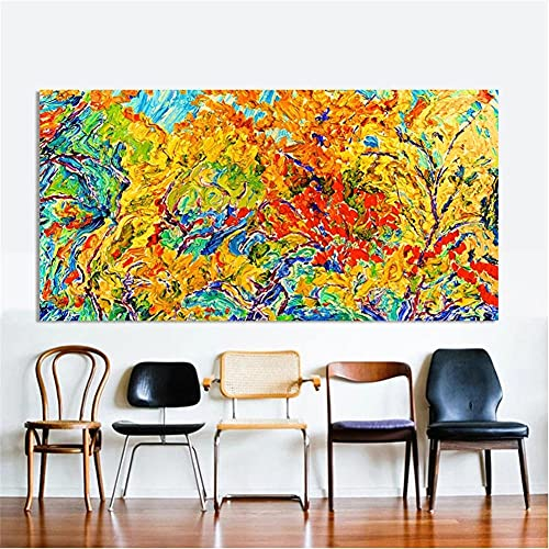 5D DIY Diamond Painting Kits, Colored Branches 30x90cmFull Drill Diamond Embroidery Paintings with Upgrade Tools Crystal Cross Stitch Art Craft for Canvas Adults and Kids for Home Wall Decor