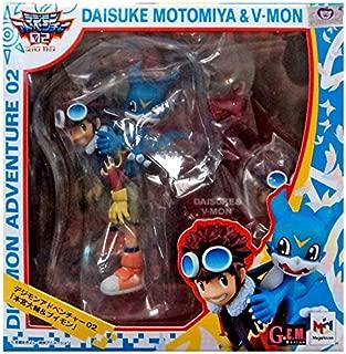 Megahouse Digimon Adventures 02 Motomiya & V-Mon GEM PVC Figure