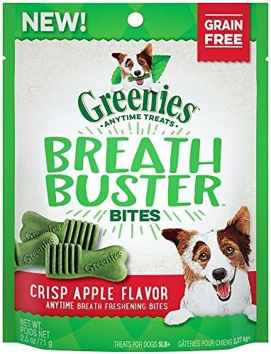 Greenies Breath Buster Bites Crisp Apple 2 5 oz product image