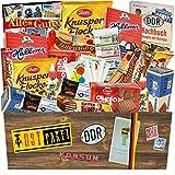 RIESEN Süßigkeiten Geschenkbox | DIE RIESEN DDR BOX | MEGA Geschenkset zum Verschenken | GRATIS DDR Kochbuch | Ostalgie Box DDR Süßigkeiten Box DDR...