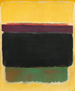 Berkin Arts Mark Rothko Giclee Canvas Print Paintings Poster Reproduction (Untitled9)