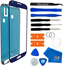 MMOBIEL Front Glass Replacement Compatible with Samsung Galaxy S4 (Blue) Display Touchscreen incl Tool Kit