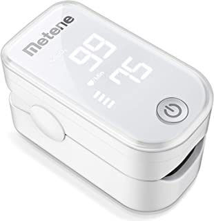 Pulse Oximeter Fingertip, Blood Oxygen Saturation Monitor with Pulse Rate and Accurate..