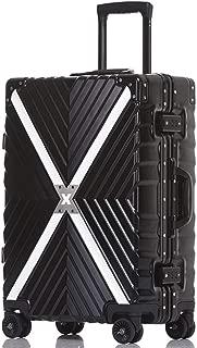 NJC Trolley Case Aluminum Frame Luggage Case X-Shaped Suitcase