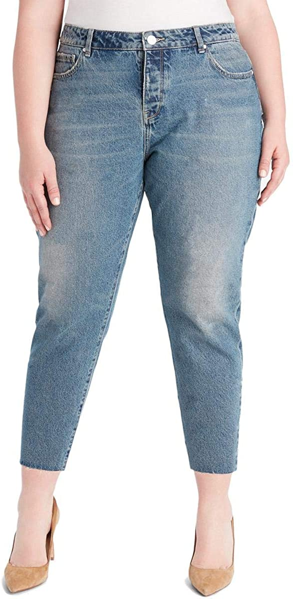 William Rast Womens Sweet Mama Cropped Jeans