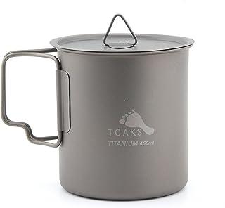 TOAKS Titanium Camping Cup 450ml