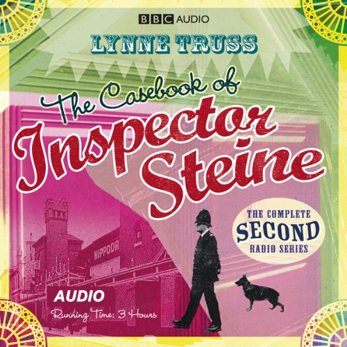 The Casebook of Inspector Steine (Dramatised)                   By:                                                                                                                                 Lynne Truss                               Narrated by:                                                                                                                                 Michael Fenton Stevens,                                                                                        Janet Ellis,                                                                                        Nicholas Le Provost,                   and others                 Length: 2 hrs and 46 mins     3 ratings     Overall 4.3