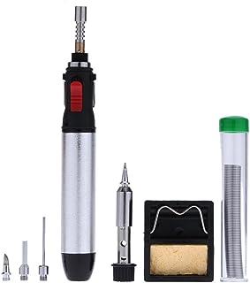 Juego de herramientas de hierro de gas - TOOGOO(R)12ml Hierro de soldador