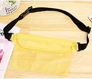 BEESCLOVER Waterproof PVC Waist Packge Magic Stick Portable Single Handle Bag for Swimming Rafting