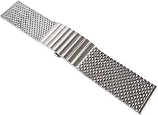 Long 22mm Matte Mesh 170mm Steel Watch Band Model 2792