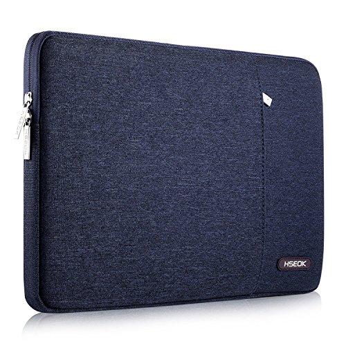HSEOK 15,6 Zoll Laptop Hülle Tasche,Stoßfeste Wasserdicht PC Sleeve kompatibel mit die meisten 15,6 Zoll Laptops Dell/HP/Lenovo/Acer/Ausu, Blau