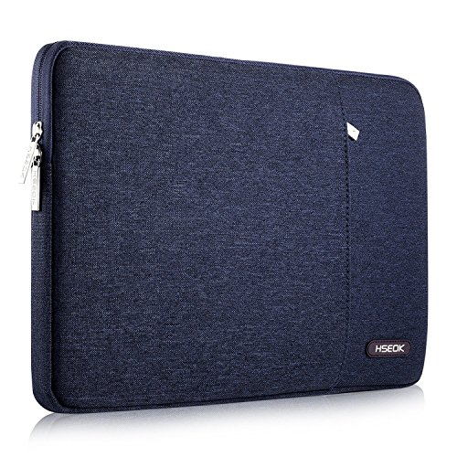 HSEOK 15.6 Inch Laptop Case Sleeve, Environmental-Friendly Spill-Resistant Case for 15.4 Inch MacBook Pro Retina 2012-2015 and Most 15.6 Inch Laptop(Interior: 15.67' x 11.02' x 0.8'), Blue