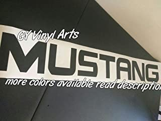 GY Vinyl Arts, Windshield,Decal,Sticker,Banner,Graphic,Campatible with Ford,Mustang,Cobra,Shelby