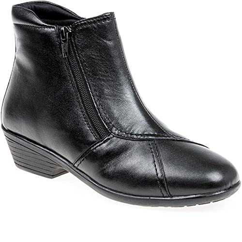 13e237ab2cb Extra Wide Ankle Boots: Amazon.co.uk