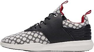 أحذية رياضية للرجال من Creative Recreation Deross شبكية سوداء وبيضاء مقاس 11.5
