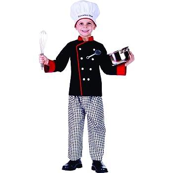 Dress Up America Disfraz de Cocinero Chico Ejecutivo: Amazon.es ...