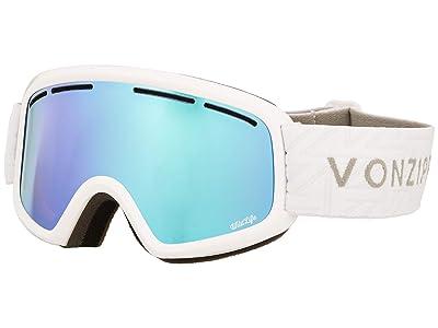 VonZipper Trike Goggle (White Gloss/Stellar Chrome Lens) Goggles