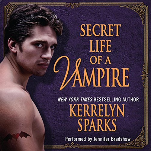 Secret Life of a Vampire audiobook cover art