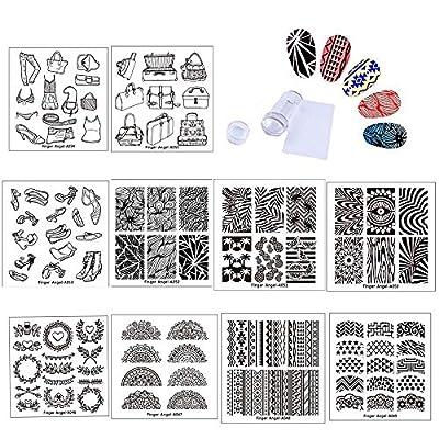 FingerAngel A046-055 Placas de